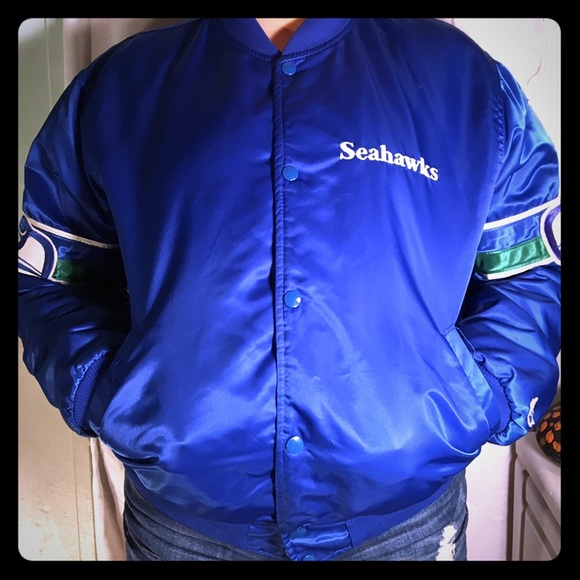 new style 4427b b7676 Seattle Seahawks Vintage Starter 80's Jacket